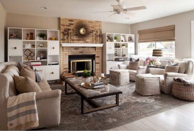 Living room decoration idea 17