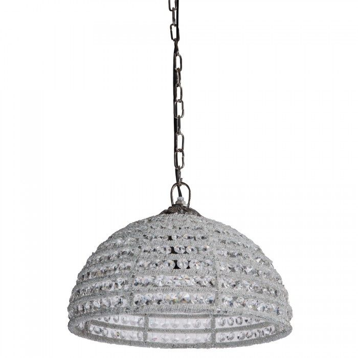 Aluminium sparkle chandelier
