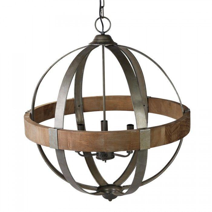 Denver Grey Lamp