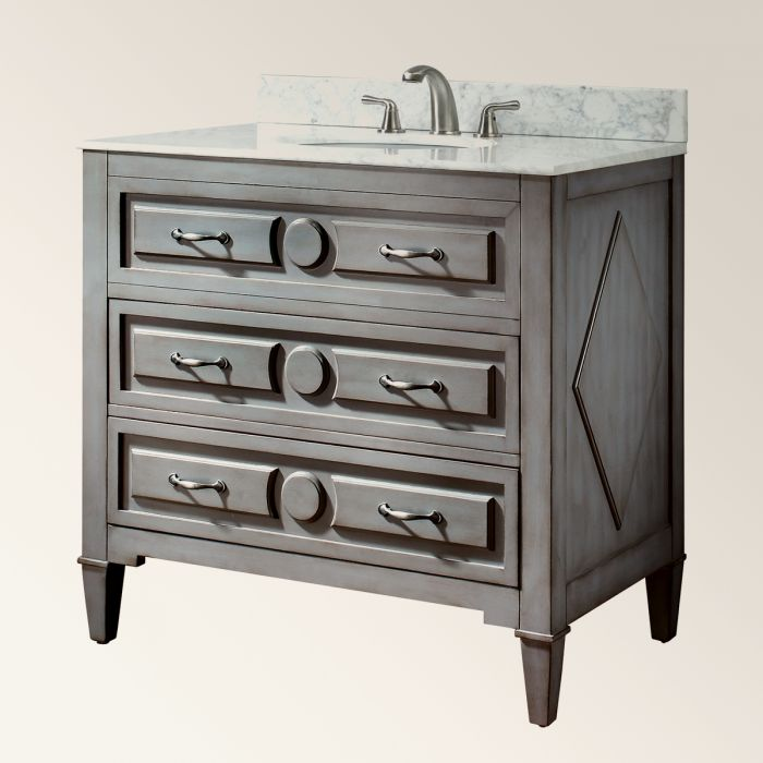 Washstand with drawers