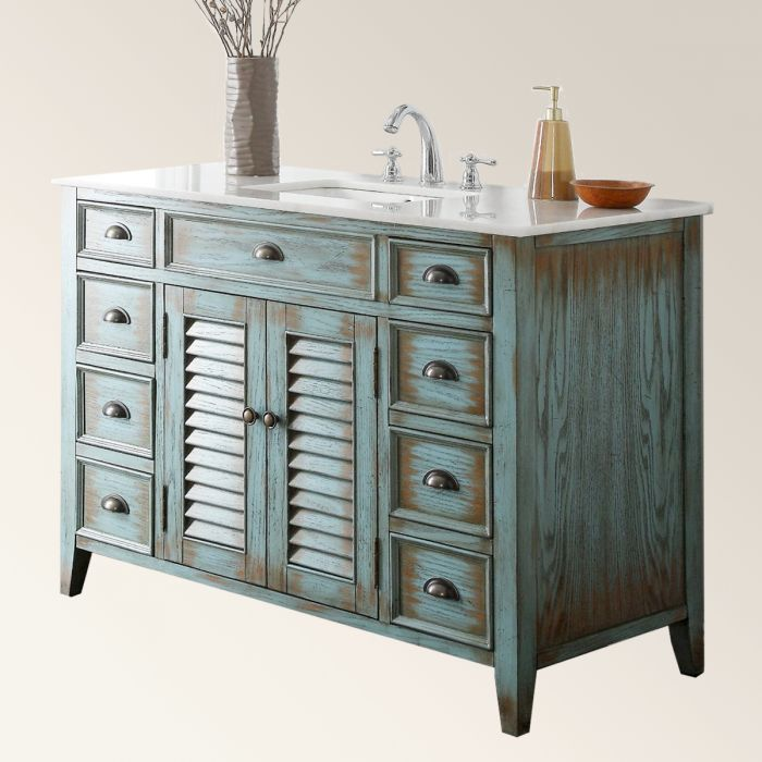 WASHSTAND WITH SHUTTERS