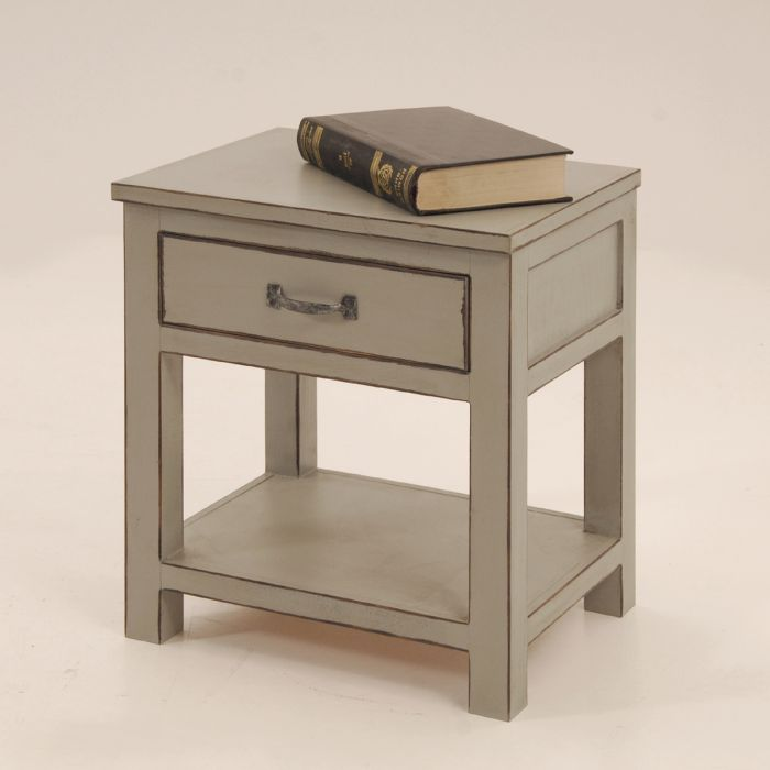 Simple line bedside table
