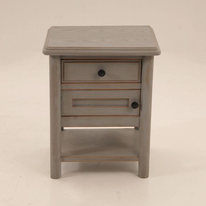 Bedside table with small door
