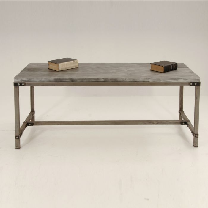 BENT IRON SHEET TABLE