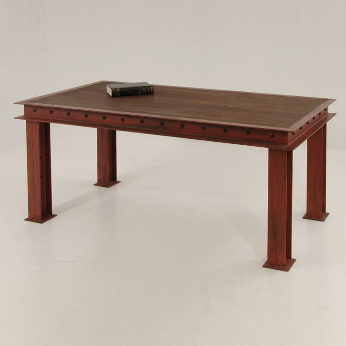 Solid iron table