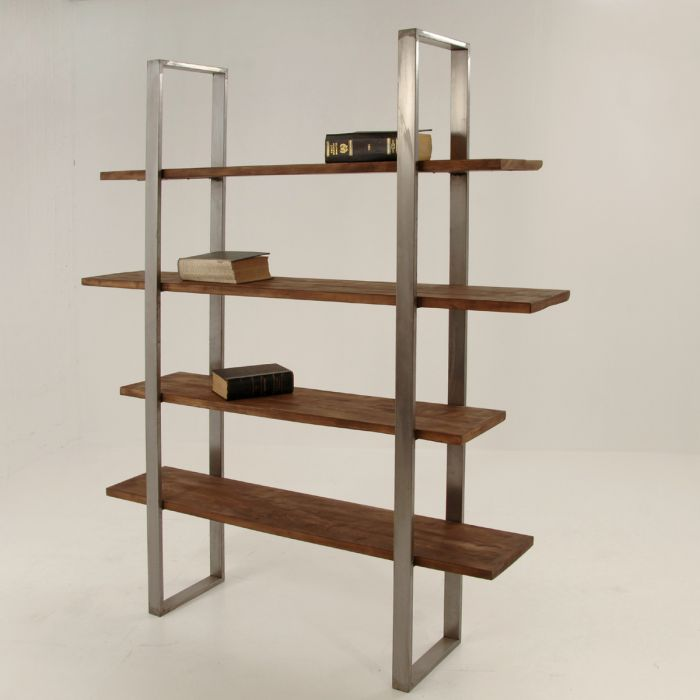 Iron open bookcase